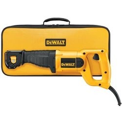 DeWalt 10 Amp Reciprocating Saw, Yellow DW304PK