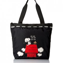 LeSportsac X Peanuts Small Deluxe Hailey Tote Bag