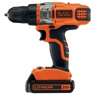 20-Volt MAX Lithium-Ion Cordless Drill Driver with Battery 1.5Ah and Charger